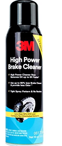 3M 08179 High Power Brake Cleaner - Low VOC - 14 oz by 3M