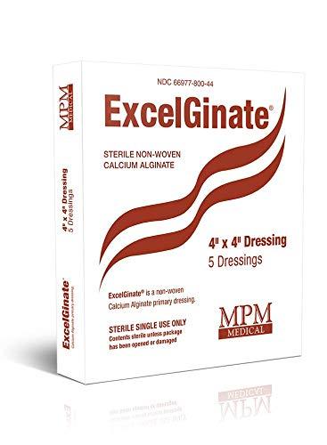 ExcelGinate Calcium Alginate Dressing, 4
