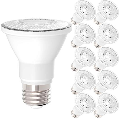 PAR20-LED-7-WATT-50W-Equivalent-DIMMABLE-IndoorOutdoor-Lighting-470-Lumens-Flood-Light-Bulb-UL-LISTED