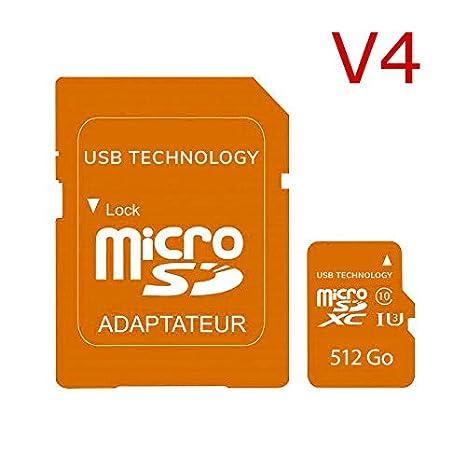 512 GB - Micro SD - V4 - Tarjeta de Memoria: Amazon.es: Electrónica
