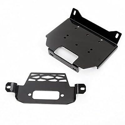 Winch Mount Plate Bracket for Polaris 15-18 RZR900&14-18 RZR 1000&General 101220