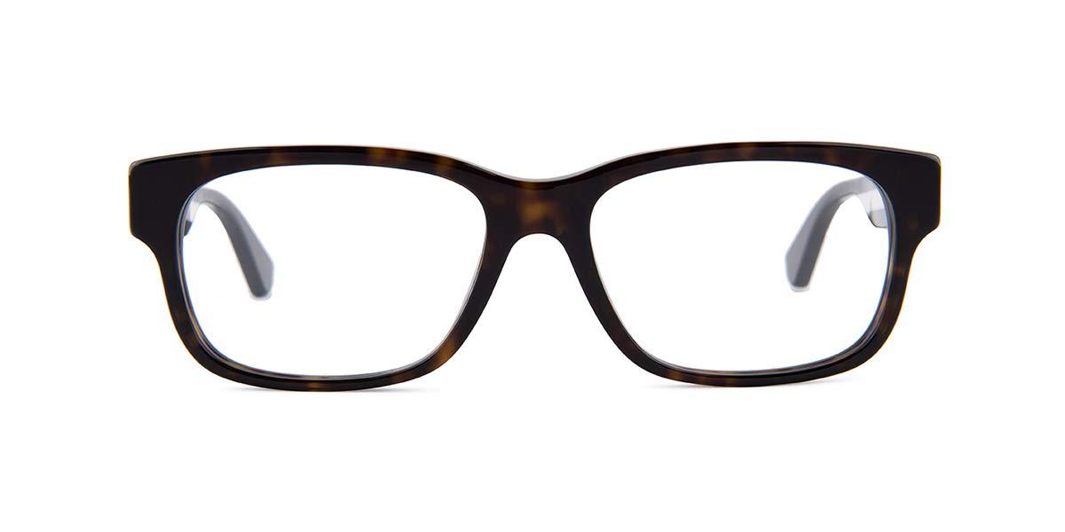 Gucci GG0343O Eyeglasses 008 Havana/Multicolor 57 mm