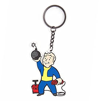 Fallout 4 Explosives Skill Keychain by Fallout: Amazon.es ...