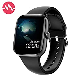 Smart Watch for Men Women,Fitness Tracker with 1.54″ Full Touch Color Screen ,IP67 Waterproof Pedometer Smartwatch with Pedometer Heart Rate Monitor Sleep Tracker for Android and iOS Phones