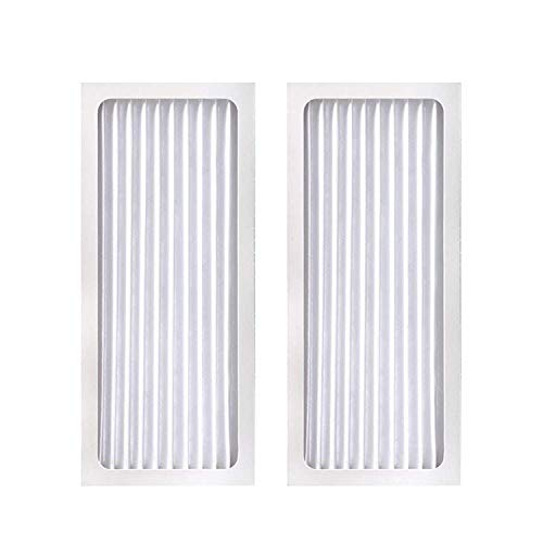 XINXI 2 Pack Replacement Air Purifier Filter for Hamilton Beach True Air Purifier 04383, 04384, 04385, 04386, Replaces Part # 990051000