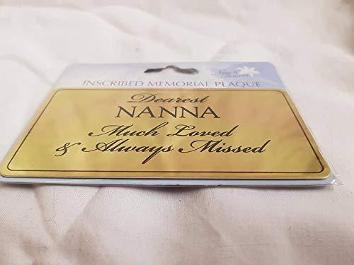 Nanna sticker for memorial pots florist supplies