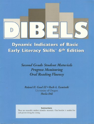 Dibels Dynamic Indicators of Basic Early Literacy Skills 6th Edition, Second Grade Student Materials ISBN 9781570358791, 1570358796 (Dynamic Indicators Of Basic Early Literacy Skills Dibels)