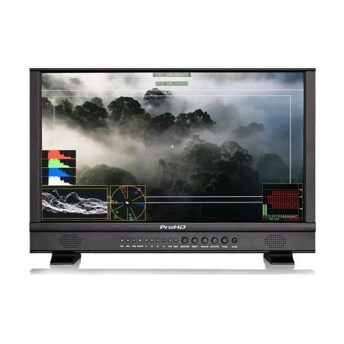 """JVC ProHD DT-N24F 23.8"""" Full HD Broadcast Studio LED Monitor, 1920x1080"""