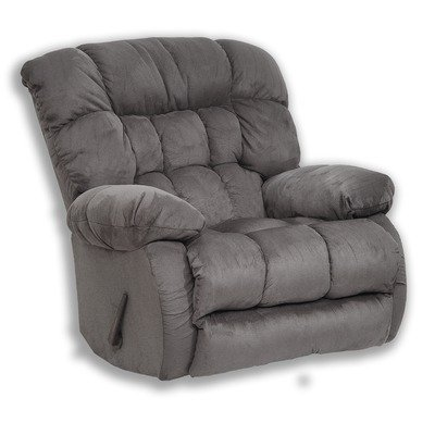Catnapper Teddy Bear Inch-A-Way Oversized Chaise Recliner Chair - Graphite from Catnapper