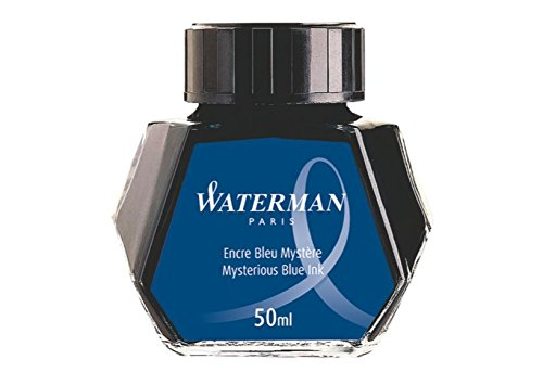 Waterman Nostalgia Bottled Ink, Blue/Black 51060W6