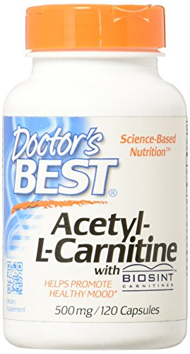 Acetyl-L-Carnitine with Biosint 500 Milligrams 120 Veg Capsules