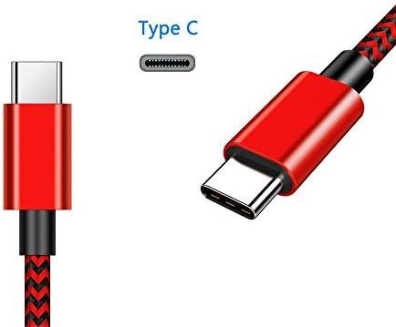 Cable compatible con Samsung Galaxy S9 plus cable USB tipo C 3 metros cable cargador compatible con Samsung S9 plus cable cargador compatible con S9 ...