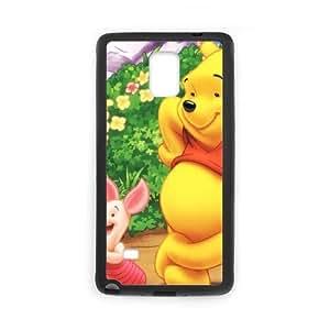 Samsung Galaxy Note 4 Cell Phone Case Black Winnie The Pooh O1R5L