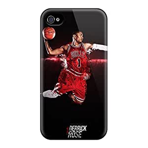 Apple Iphone 4/4s XKg2029IMzV Unique Design Lifelike Derrick Rose Pictures Excellent Hard Phone Case -88bestcase