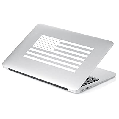 Yoonek Graphics American Flag United States Decal Sticker for Car Window, Laptop, Motorcycle, Walls, Mirror and More. # 559 (3