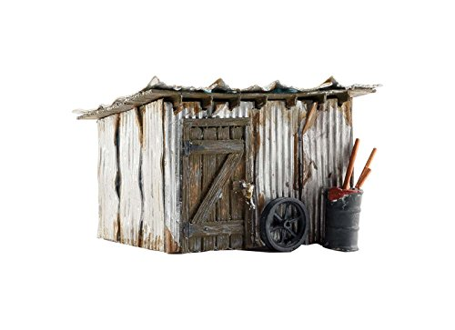 Woodland Scenics WOOBR5856 O Built-Up Tin Shack
