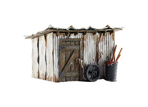 (Woodland Scenics WOOBR5856 O Built-Up Tin Shack)