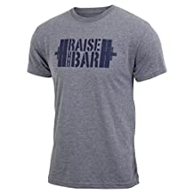 Raise the Bar - Gray - Men's Triblend T-shirt