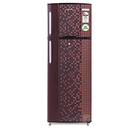 Kelvinator 235 L 2 Star Frost Free Double Door Refrigerator  KA242PMX, Maroon Pixel