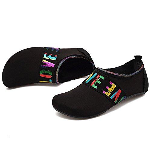 Swim Shoes Sports Beach Loveblack Surf for Yoga Water Unisex Aqua Socks XMiniLife Exercise wnZHOxE