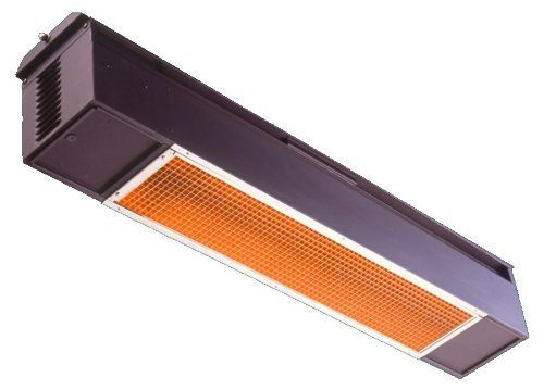 Sunpak S25NGBLK Natural Gas Infrared Patio Heater (Heater Overhead Propane)