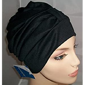 Fashy Ladies Swim Turban With Adjustable Fastener Black White Red Blue Brown Red