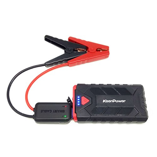 Price comparison product image Keenpower 12V Petrol Auto Portable 500A Emergency Starting Device 8600mAh Car Batteries Charger Car Jump Starter Booster Power Bank