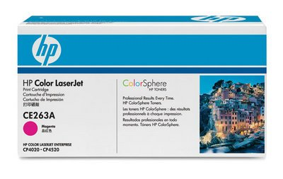Hp 648a Color Lj Cp4025/Cp4525 Series Smart Print Cartridge Magenta 11000 Yield - Smart Series Print Cartridge
