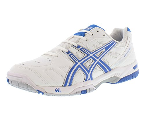 ASICS Men's Gel-Game 4 Tennis ShoeWhite/Royal Blue/Silver11.5 M US