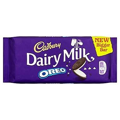Cadbury La Leche De Vaca Con 185g Oreo: Amazon.es: Alimentación y bebidas