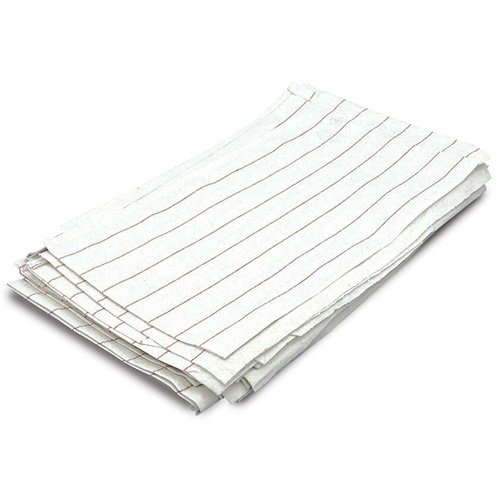 Chef Revival 702GT Cotton Glass Polishing Towel with Red Pinstripe, 29