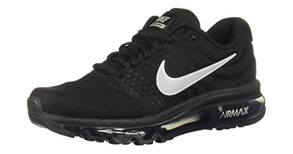 Nike Air Max 2017 Running Shoe For Women BlackWhite