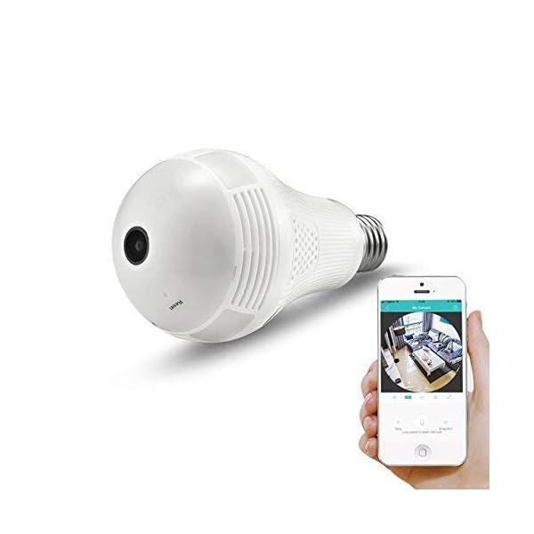 Bulb CCTV WIFI Camera for Home