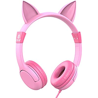 iclever-kids-headphones-girls-cat