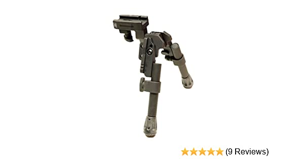 Tactical Adjustable Tan Camouflage Hand Grip Bipod Leg Picatinny Rail For Rifle