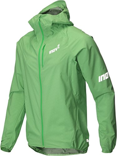Inov-8 Men's AT/C Stormshell Windproof Jacket - 000579 (Green - L) - Stormshell Jacket