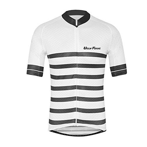 rt Lightweight Sports T-Shirt Cycling Quick-Dry Short Sleeve Men's Performance Training T- Shirt Top ()