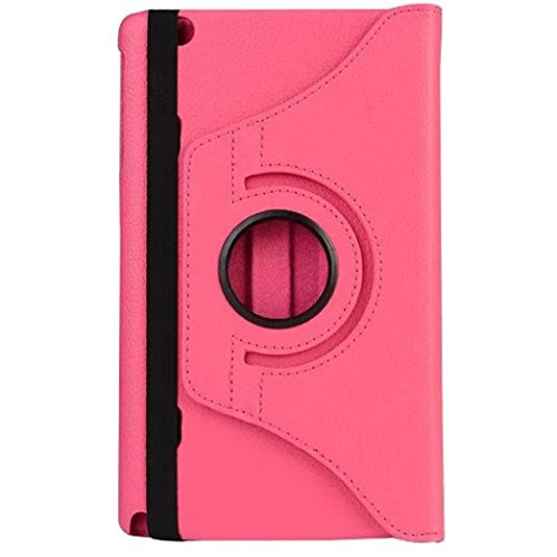 For LG G PAD X8.3 VK815 case,Lucoo New Rotating Leather Stand Case Cover For LG G PAD X8.3 VK815 8.3inch LTE Tablet (Watermelon Red)