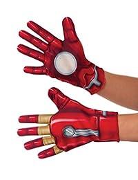 Rubies Costume Captain America-Civil War Kid's Iron Man Gloves