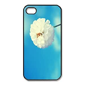 iphone4 4s phone cases Black Flower fashion cell phone cases HYTE5063798