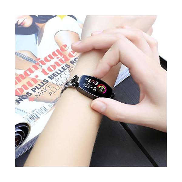 41diMvN7EwL Gadgets Appliances Gadgets Appliances Female's Smart Watch, Exquisite Fitness Tracker, Blood Pressure/Heart Rate/Sleep…