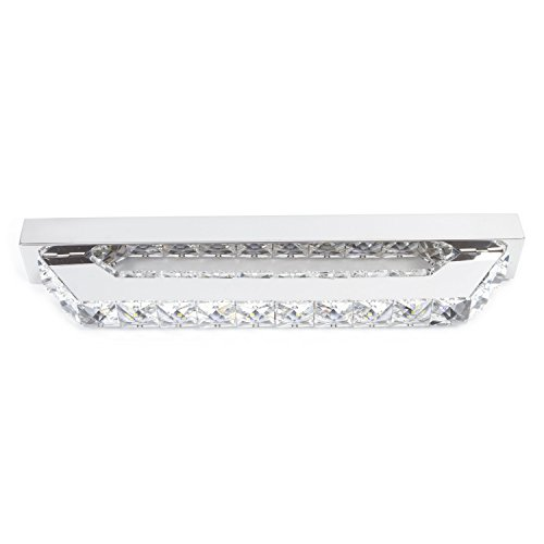 Lightess Crystal Bathroom Vanity Lights Fixtures Led Bath Vanity Wall Sconces Make Up Mirror ...