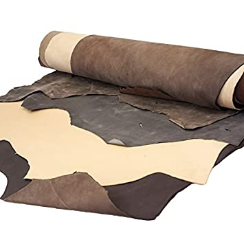 SLC\'s Buffalo and Calf Leather Sides (Five Side Bundle) Springfield Leather Company