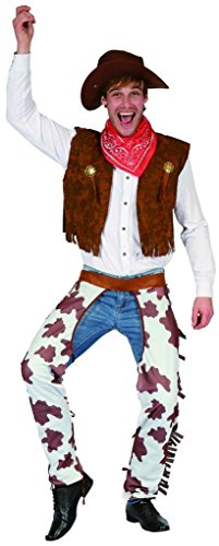 YOU LOOK UGLY TODAY Men's Funny COWBOY Halloween Party Costume Adult Costumes -Medium (Halloween Costumes Cowboy)