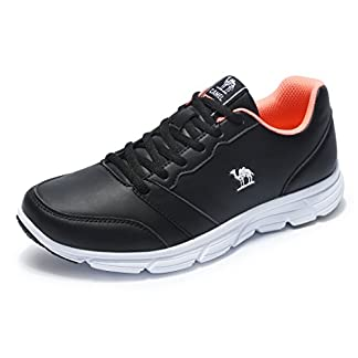 CAMEL Womens Trail Running Shoes Lace-up Athletic Shoes Lightweight Gym Sneakers