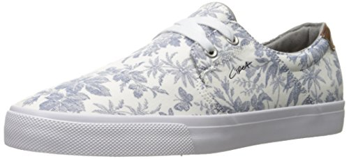 C1RCA Unisex-Erwachsene Alto Low-Top White/Tropical
