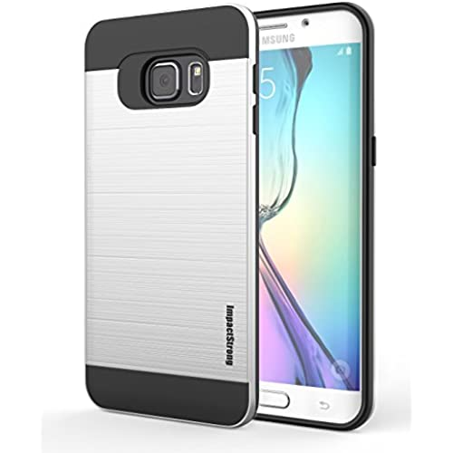 S7 Edge Case, ImpactStrong [Drop Protection] [Extra Front Raised Lip] Dual Layer Shock Proof Cover for Samsung Sales