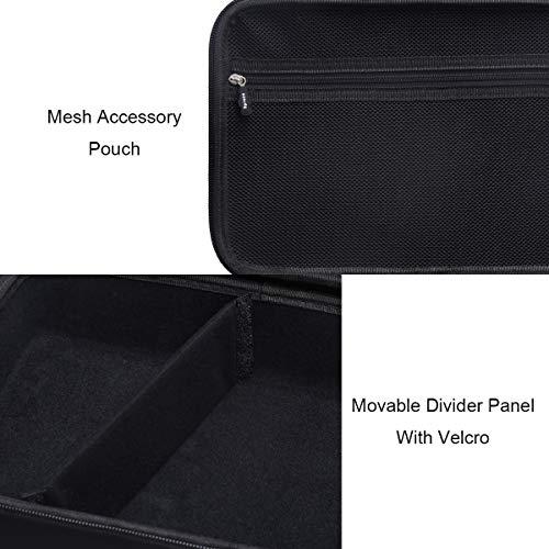 Aproca Hard Travel Storage Carrying Case Fit for DR.J Professional HI-04 Mini Projector (Black)