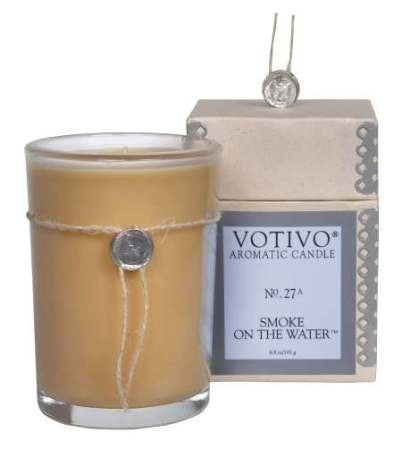 Votivo - Smoke on the Water Candle 6.8 oz - Evergreen Votive Candle