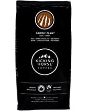 Kicking Horse Coffee, Grizzly Claw, Dark Roast, Whole Bean, 1 lb - Certified Organic, Fairtrade, Kosher Coffee
